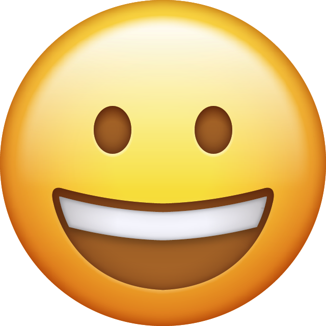 Laughing Emoji [Free Download IOS Emojis] Icon File HD PNG Image